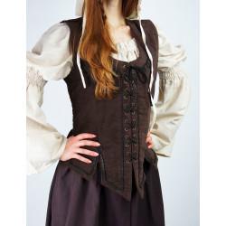 Corsage médiéval - Odette -...