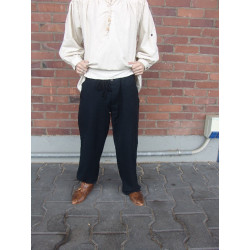 "Pantalon médiéval ""Dirk"" Noir"
