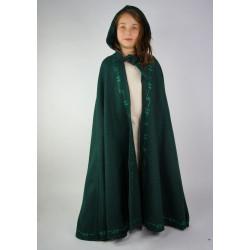 Cape en laine courte avec...