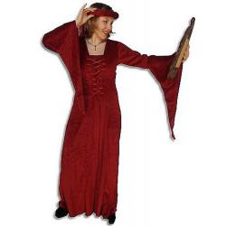 Robe médiévale en velours...